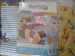 Kit de colcha com  a capa de travesseiro de 130 por 100