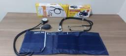Esfigmomanometro e Estetoscópio