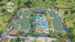 TG Oportunidade em Resort na praia de Muro Alto com flats de 01 e 02 quartos!