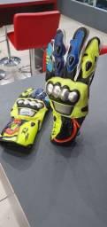 Luva de couro Valentino Rossi