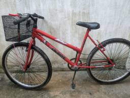 Bicicleta ultra com cesta