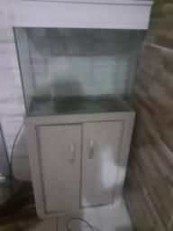 Vendo aquario com móvel