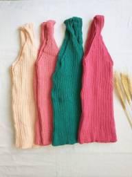 Blusa Alcinha Decote V