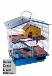 Gaiola Hamster 2 Andares Completa