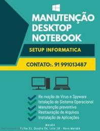 Manutenção Computadores e notebooks
