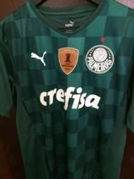 Camiseta Palmeiras 20/21 - Patch Campeão Libertadores