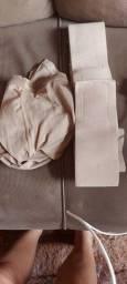 Meia calça kendell e cinta segura barriga de grávida