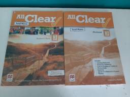 Livro de Inglês All Clear 3