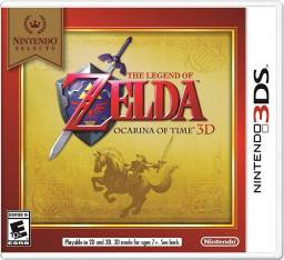 Título do anúncio: The Legend Of Zelda Ocarina of Time Nintendo 3ds