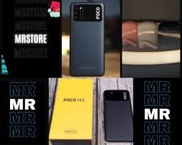 Xiaomi Poco M3 + fone Bluetooth novo lacrado