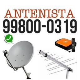 serviço de antenas em geral