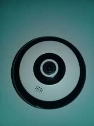 Câmera  Wifi panoramica ( olho de peixe )