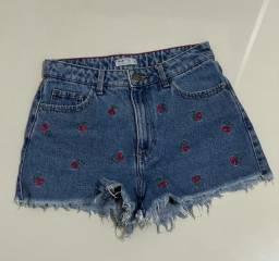 Shorts jeans por R$20