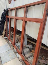 Janelas de ferro 2,0x2,50m ( 2 janelas)