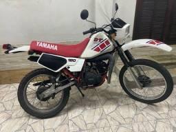 Yamaha Dt 180 1986 documentada