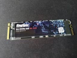 SSD NVMe 128GB KingSpec 2400MB/s