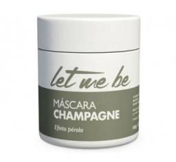 Let Me Be Máscara Champagne Efeito Perola - Matizador 500g