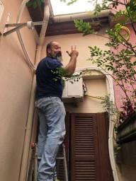Instalação e limpeza de ar condicionado Split