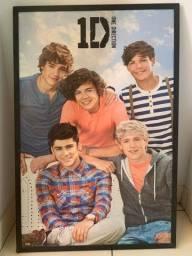 Título do anúncio: Quadro One Direction - 1D