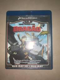 DVD Blu-ray 3D Como Treinar Seu Dragão 1