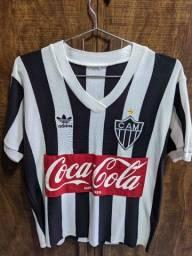 Camisa retrô Atlético anos 80 - troco por Mi Band 4