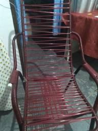 Cadeira com corda duas