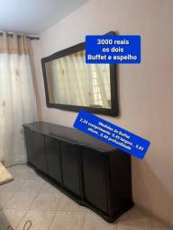 Buffet e espelho