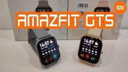 Amazfit GTS Azul/Dourado/Cinza 730.