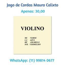 Jogo de cordas Mauro Calixto