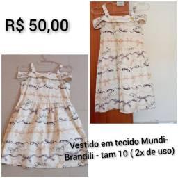 Vestido Mundi- Brandili