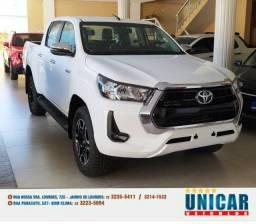 Toyota Hilux Srv 2.8 2021 Zero Km Branco 4x4 Aut. Completo