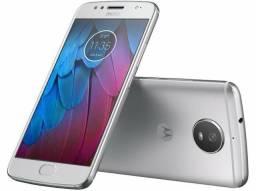 "Moto G 5S Android 7.0 Tela 5.2"" 32GB Wi-Fi Câmera 16MP - Prata - Novo!"
