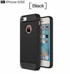 Capa Case Para Iphone 5 5s Se Silicone A Prova De Choque