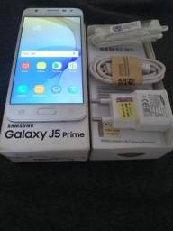 """""""Leia o anúncio"""" Galaxy J5 Prime, Semi-Novo, 32 GB, 2 GB de RAM, 4G, Faço entrega"""