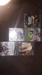 Vendo ou troco/ 5 Jogos de PS3 Por R$100
