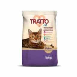 Raçao tratto gato adulto peixe 10 kg