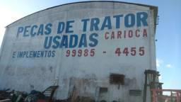 Comando hidráulico trator retroescavadeira