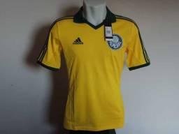 Camisa Palmeiras 2013 - Amarela - Tamanho P