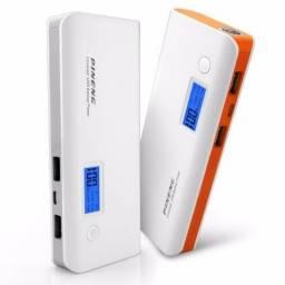 Bateria Externa Power Bank Pineng 10000 Mah Usb Lanterna