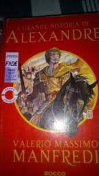 A Grande História de Alexandre e A Vida no Limite, em ótimo estado