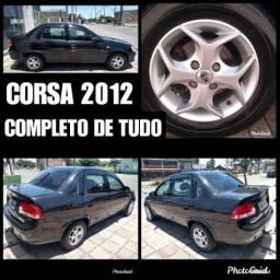 Corsa 2012 Completo ( R$ 5.000 entrada + 48X via banco ) Ac moto de entrada - 2012