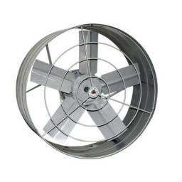 Exaustor 30cm 127V cinza axial industrial - Ventidelta