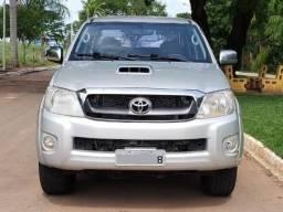 Hilux SRV 2009 Diesel Prata Top - 2009