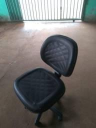 Cadeira para computador de couro