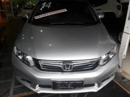 Honda civic lxr 2.0 at 2014 novo - 2014