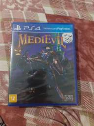Game PS4 medievil novo lacrado
