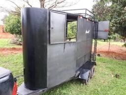 Reboque trailer para 2 cavalos - 2008