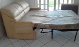 Sofá cama courino c colchao
