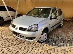Clio Sedan Authentique 1.0 16v 2007 - 2007