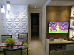 Apartamento à venda 2/4 suíte e varanda | Condomínio Maré Nostrum
